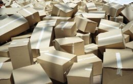 Cardboard boxes - Barbara Fischer, Australia/Moment/Getty Images