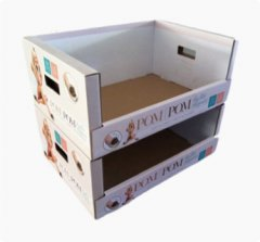 corrugated pdq, pop, pos display