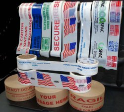 Custom Printed Logo Tapes