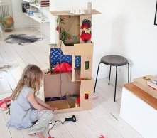 DIY Shoebox Dollhouse