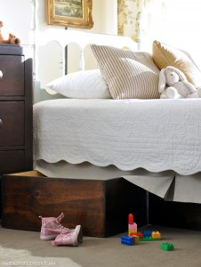 DIY Underbed Storage Boxes | The Painted Hive
