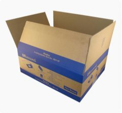 double wall corrugated shipping carton box