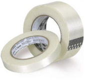 Filament tapes for sealing boxes