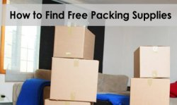 Find free packing supplies