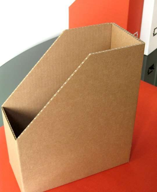 Cardboard Magazine file boxes :: Industrial packing