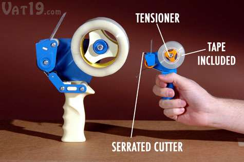 How to load a packing tape dispenser youtube.