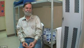 John Helinski, 62, spent three years living in a cardboard box on the streets of Tampa Bay. He then tried to apply for a place at a homeless shelter, but struggled because all of his personal identification had been stolen