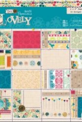 Papermania 6x6 Inch Paper Pack Sew Lovely