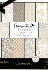 Papermania Capsule Collection 6x6 Inch Paper Pack Lincoln Linen