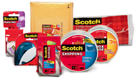 Protect your belongings with Scotch® Brand packaging solutions.