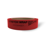 Roll of Stretch Wrap Secure Tamper Evident Tape