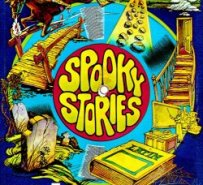 Spooky Stories Cardboard Record