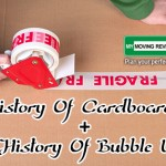 the history of cardboard boxes