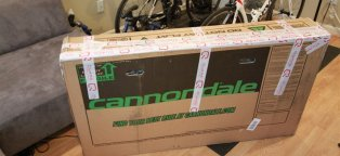 Cardboard bike box dimensions
