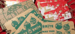 Cardboard ornaments boxes