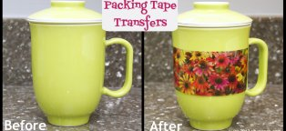 Packing Tape Transfers