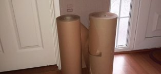 Rolls of packing Paper