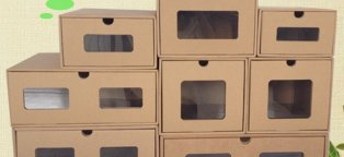 Shoe Storage boxes Cardboard