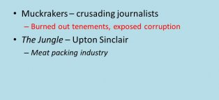 Upton Sinclair meat packing industry