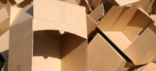 Where to Get cardboard boxes from?