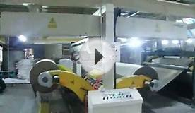 Automatic stacker for packing paper box making machine.mpg