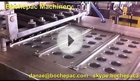 Blue bubble Blister Packaging Machine.Vacuum forming