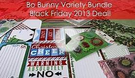 Bo Bunny Variety Pack 2 Black Friday 2013