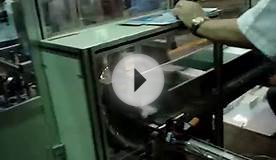 Box tissue paper packing machine