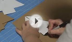 Cardboard Christmas Tree Craft Tutorial
