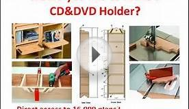 CD storage: Would you like to make a CD storage? click