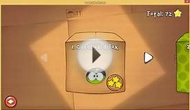 Cut The Rope #1 Cardboard Box