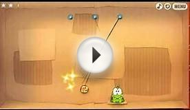 Cut the rope Time travel cardboard box walkthrough level 1-6