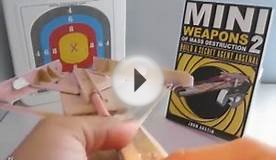 Foldable Candy Box Crossbow // Mini Weapons of Mass