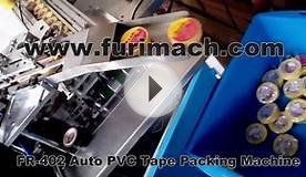 FR-402 Automatic PVC Insulation Tape Packing Machine (PVC
