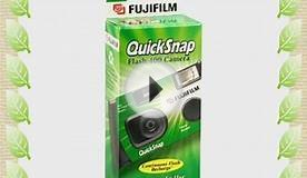 Fujifilm QuickSnap Flash 400 Disposable 35mm Camera (Pack