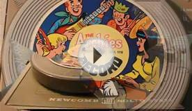 Hide and Seek - The Archies (Cardboard Cereal Box Record)