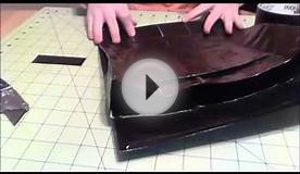 how to make a duct tape back pack. (part 2)