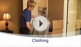 How to pack your bedroom for moving