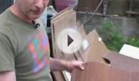 How to Recycle your cardboard & make functional furniture