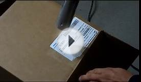 How to remove label from cardboard box NO marks