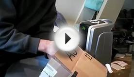 How to remove stickers from cardboard boxes