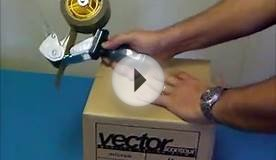 How to use a Carton Tape Dispenser
