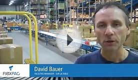 Industrial packaging equipment service testimonial