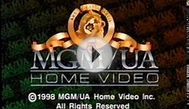 MGM/UA Home Videos (1998) Company Logo (VHS Capture)