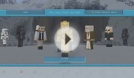 Minecraft (Xbox 360) - STAR WARS SKIN PACK! - FULL