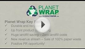 Planet Wrap by Bubble Paper Ltd | .bubblepaper.co.uk