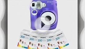 Polaroid PIC-300P Instant Camera in Purple 5 PACK OF FILM