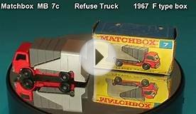Refuse Truck Matchbox MB 7 c 1967 F type box