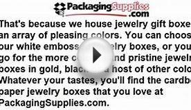 Wholesale Jewelry Boxes - Cardboard Boxes