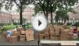 World Record: Largest Cardboard Fort - Kirkland House